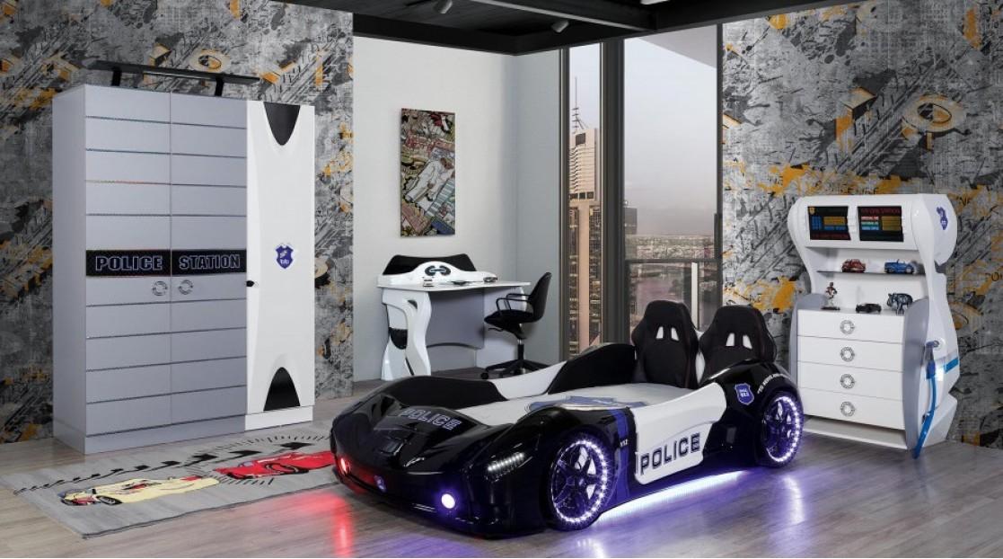 Police Araba Karyolalı Takım