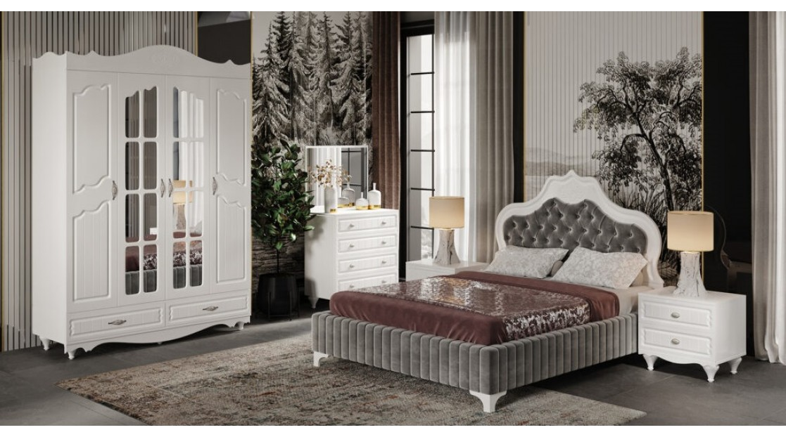 Aras Yatak Odası (4 Kapılı)
