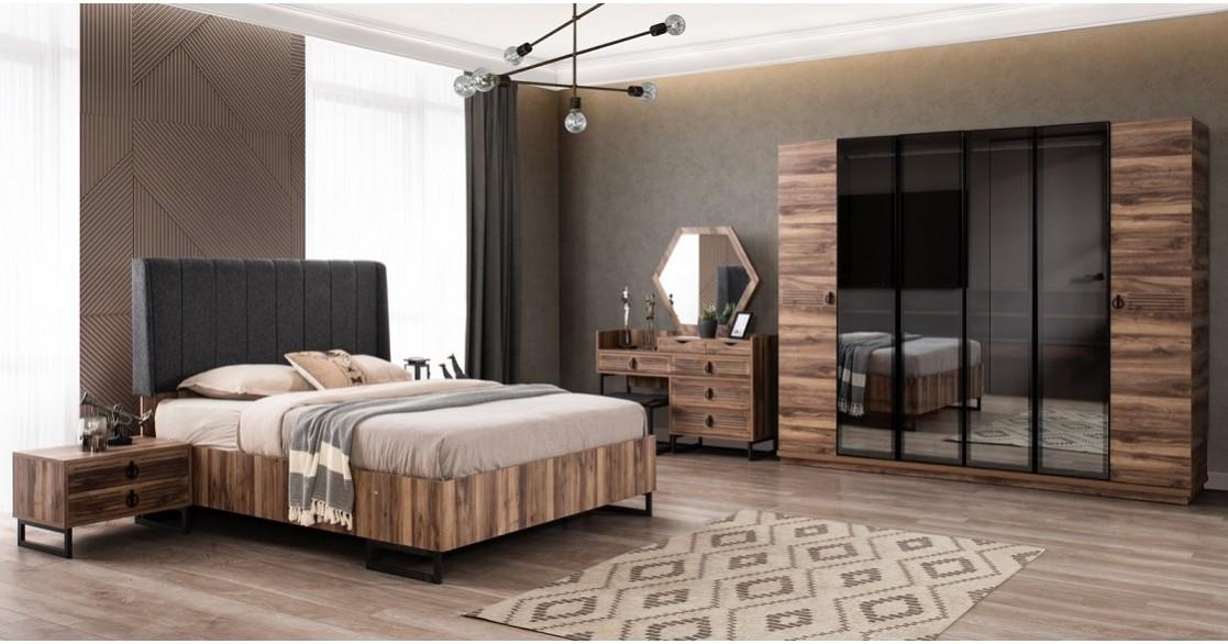 Dream Ceviz Yatak Odası