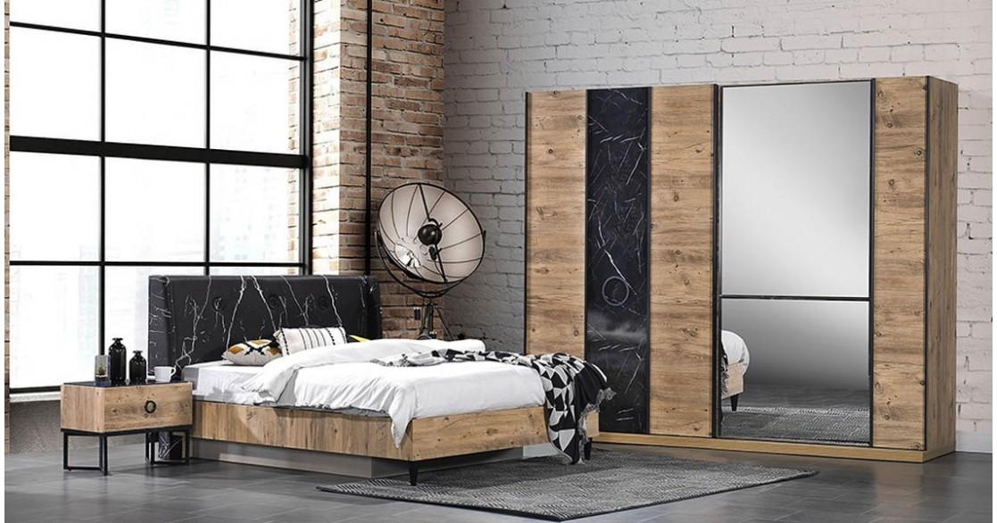 İrem Ceviz Yatak Odası Takımı