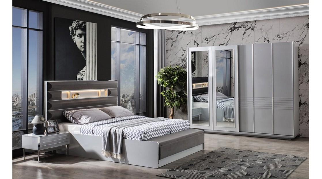 Platin Yatak Odası(Açık Gri)