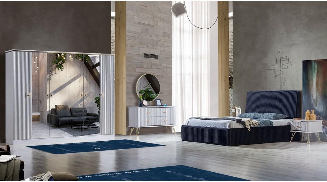 Zen Beyaz Yatak Odası