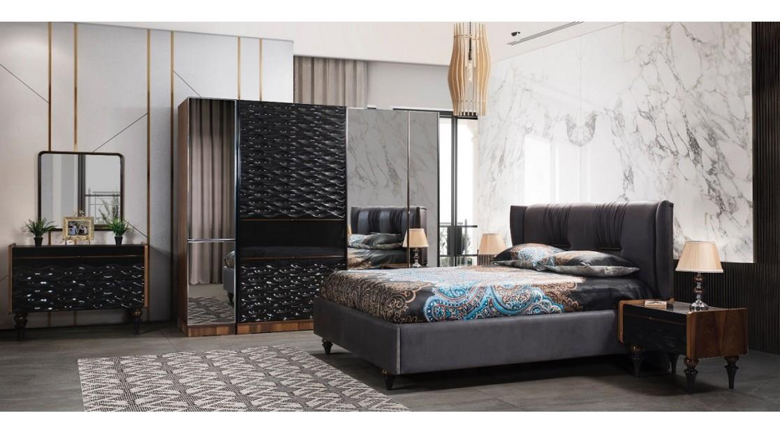 Siyah İnci Yatak Odası Takımı