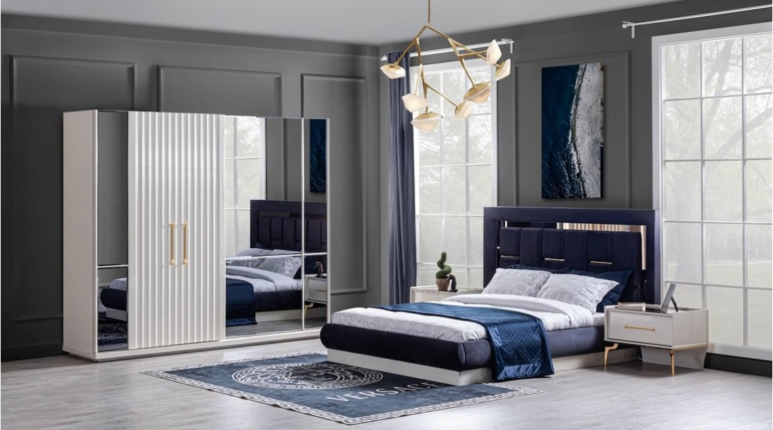 Titanyum Gold Yatak Odası