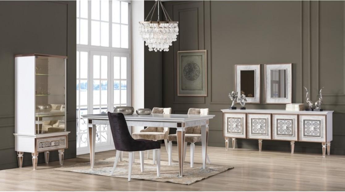 Çırağan (Beyaz) Yemek Odası Takımı