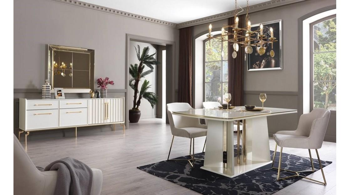 Titanyum Gold Yemek Odası